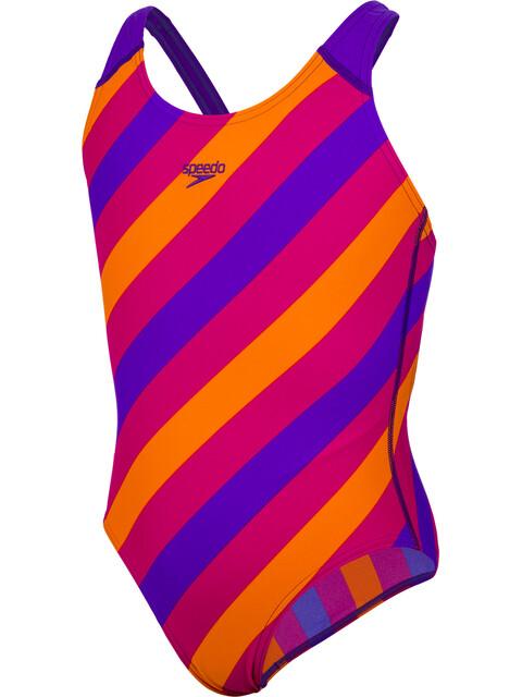 speedo Allover Splashback Strój kąpielowy Dzieci kolorowy